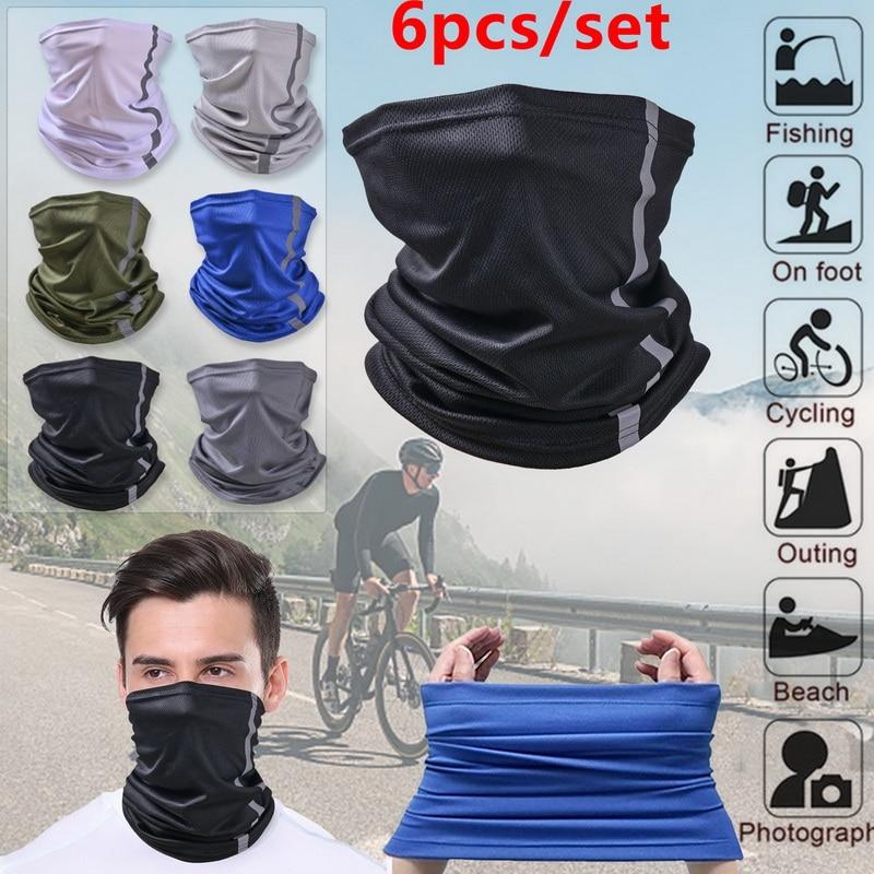 Mesh Camping Hiking Scarves Cycling Sports Bandana Outdoor Headscarves Riding Headwear Men Women Scarf Neck Tube Magic Scarf