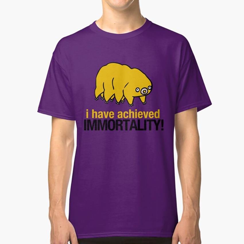 I Have Achieved inmortality-Waterbear camiseta ciencia impresionante Waterbear Tardigrade biología Cool