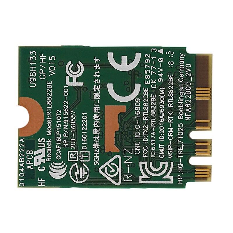 HOT-AC adaptador wi-fi para rtl8822be ngff m.2 802.11ac 2.4g/5 ghz sem fio wifi cartão + bluetooth 4.1 fru 01ax711 01ax712 para thinkpad