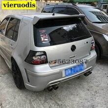 For Volkswagen GOLF 4 Spoiler 2001-2006 mk4 High Quality ABS Material Car Rear Wing Primer Color Rear Spoiler