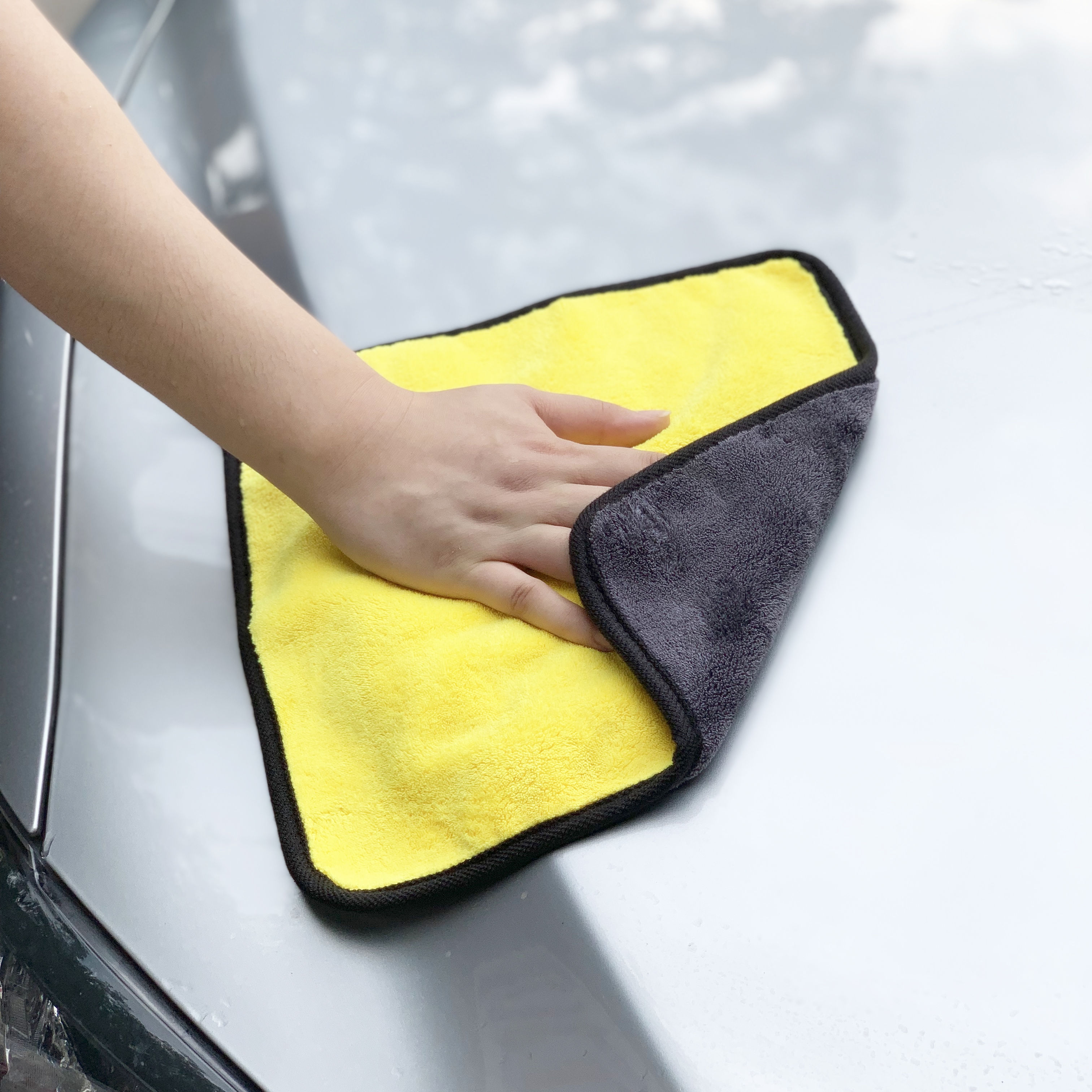 Car Accessories Car Cleaning Towel For Volkswagen Phaeton Phideon Variant Touran Beetle T-Cross T-Roc Atlas Amarok Tarok MOIA