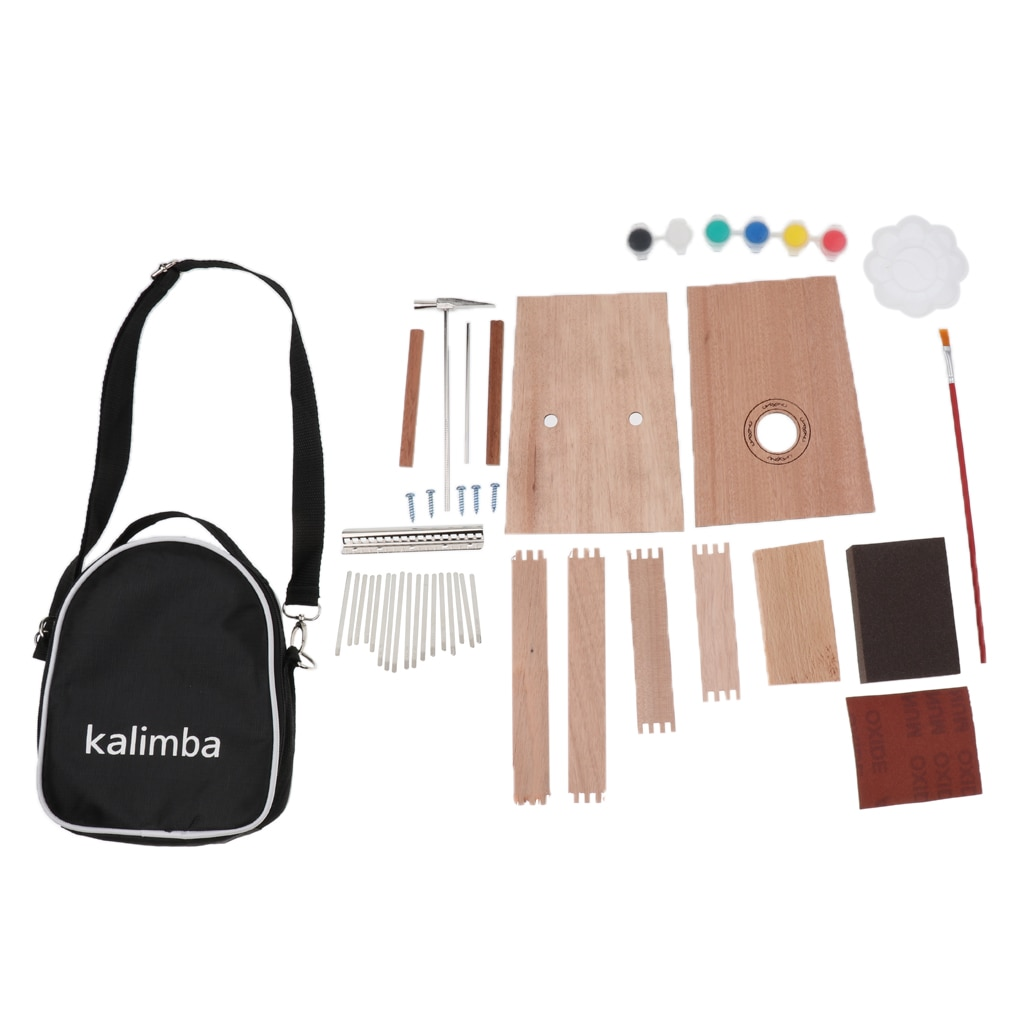 17 Key Kalimba DIY Set Thumb Piano Mbira Mbrimba Finger Musical Percussion enlarge