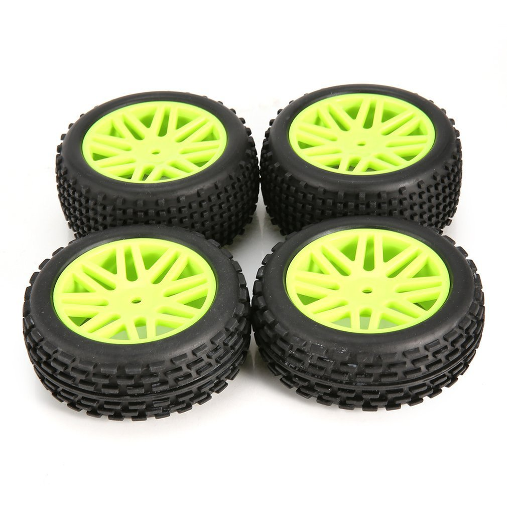 Фото - 4pcs Rim Rubber Tires Tyre Wheel For 1/10 RC Crawler Car Model HSP Redcat Exceed RC Traxxas HPI Spare Parts 4pcs 1 64 modified wheels rubber tires with axles and end cap upgrade parts for rc model car