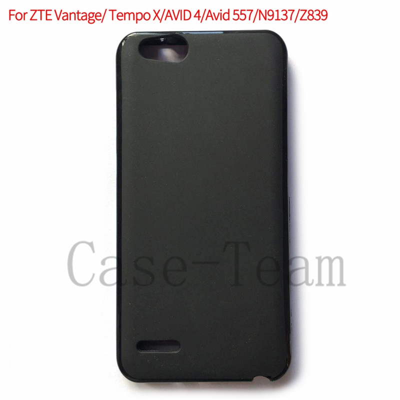 Helado de celular de TPU funda de teléfono para ZTE Vantage transparente funda Pudding para ZTE Tempo X para AVID 4 Avid 557 N9137 Z839