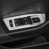 for volkswagen vw t roc t roc 2018 2019 accessories stainless steel car interior door armrest panel window lift button cover