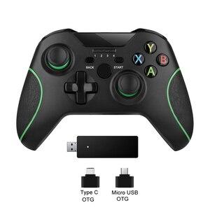 2,4G Беспроводной контроллер для Xbox One консоль для ПК для Android джойстика геймпад для смартфона джойстик