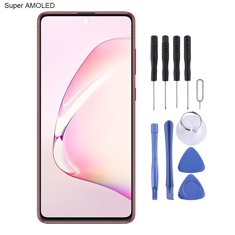 iPartsBuy for Galaxy Note 10 Lite Original Super AMOLED Material LCD Screen and Digitizer Full Assembly enlarge