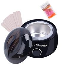 Schnelle Lieferung 1 Set Wachs Bohnen Wachs für Enthaarung Gesichts Haar Remover Wachs Wärmer Perle Depiladora Gesichts Wachs Set Haar entfernung