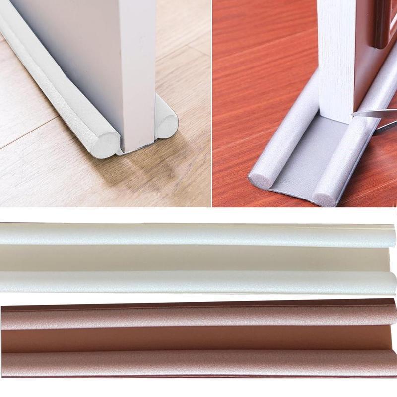 Obturateur de porte Flexible, réduction du bruit de fond de brouillage, blocage de bande sonore pour sceller les fenêtres 93CM