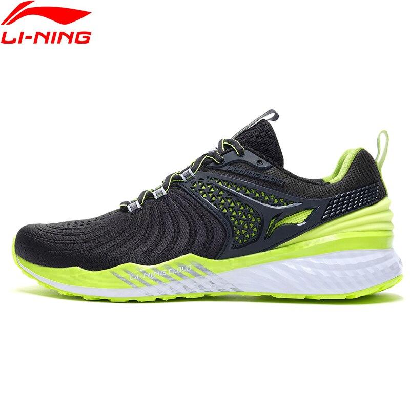(Break Code)Li-Ning Men LN CLOUD 2019 V2 Cushion Running Shoes Light Stable LiNing li ning Bounce Sport Sneakers ARHP013 XYP870