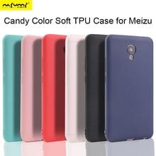 Meizu M5s M5 Note M6S M6T Bonbons Couleur coque souple pour Meizu M6 Note Pro 6 Pro 7 Plus Étui sur Meizu 15 Et 16 Plus MX6 Couverture Arrière