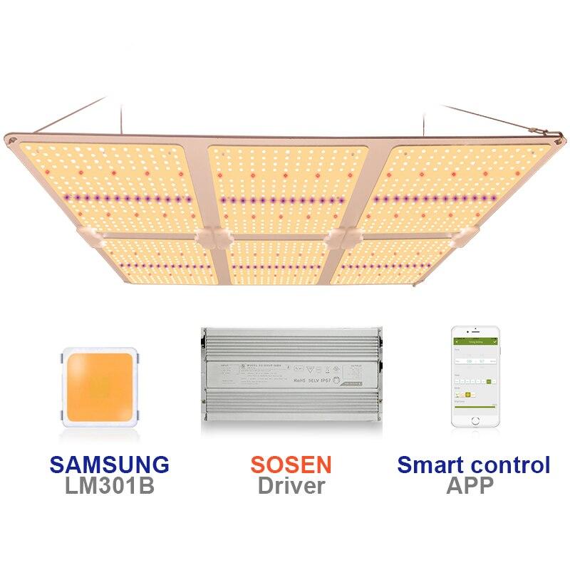Quantum Board Complete Kit Full Spectrum Led Lights SF6000 600W Samsung LM301H/B Board King Led Grow Light Plangting Indoor