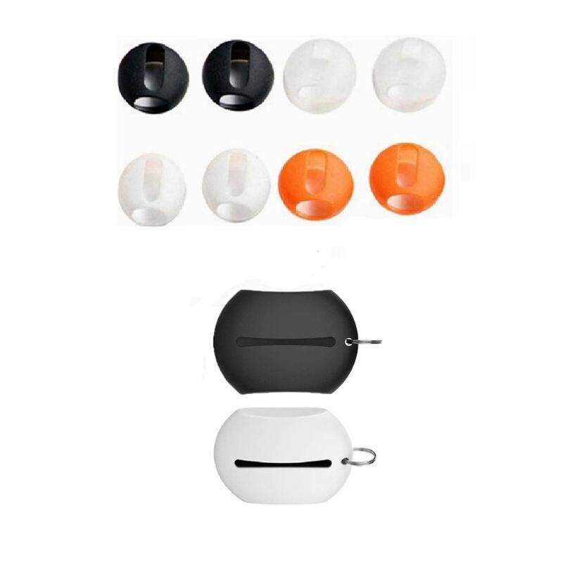OOTDTY 1 ensemble anti-dérapant écouteurs tampons Silicone étui dans loreille écouteurs pour Huawei freebud 3 nouveau