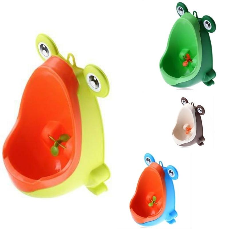 WC Frog Baby Potty Toilet Urinal Kids Boy Child Urinal Pee Potty Training Seat Travel Children Urinal for Boys Kids