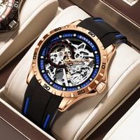 Swiss FamousBinkada  2021 Designernew Pattern LuxuryMechanical Wristwatch Stainless Steel  Top Brand  Men Waterproof Watches Rel