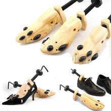 BSAID 1 Piece Shoe Tree Wood Shoes Stretcher, Wooden Adjustable Man Women Flats Pumps Boot Shaper Ra