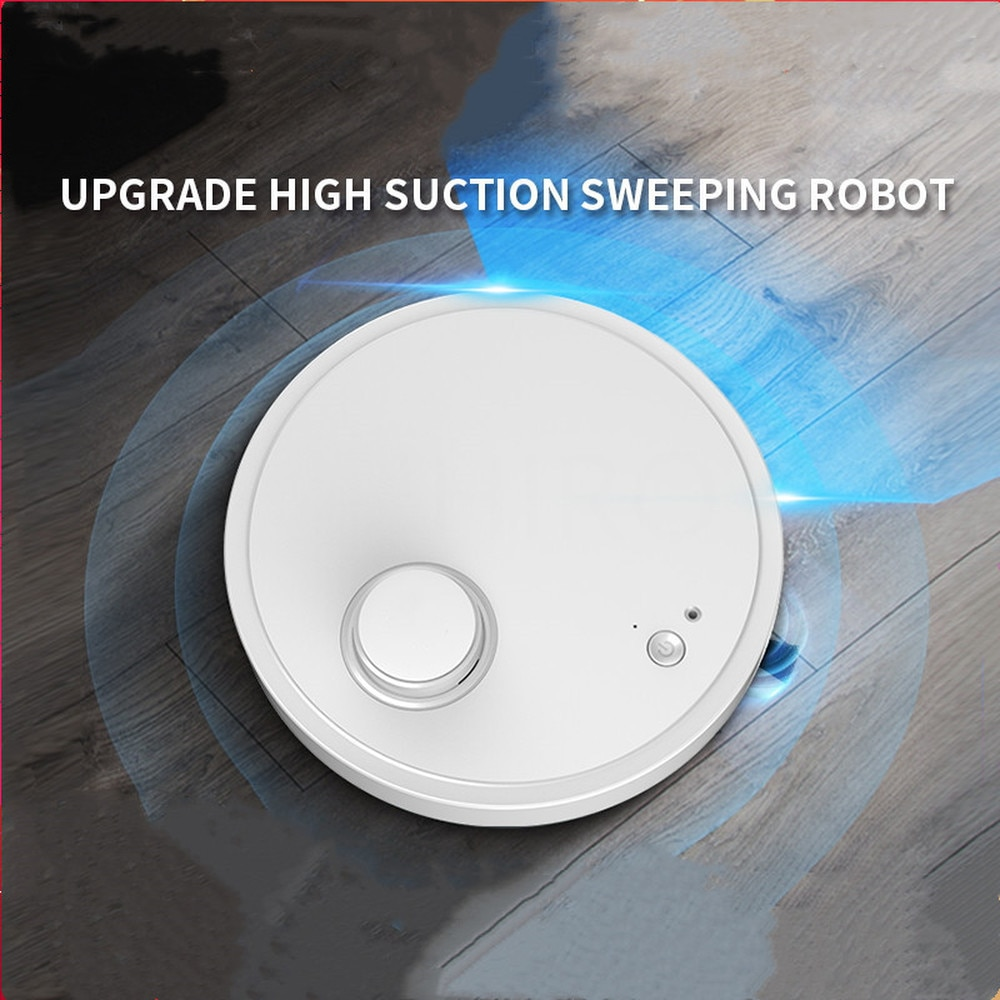 Vacuum Wireless UV Cleaners Robots Mini for House Lifestyle 1500Pa 3 In 1 USB Charging Universal Driving 2021 Newest Sweep Robot