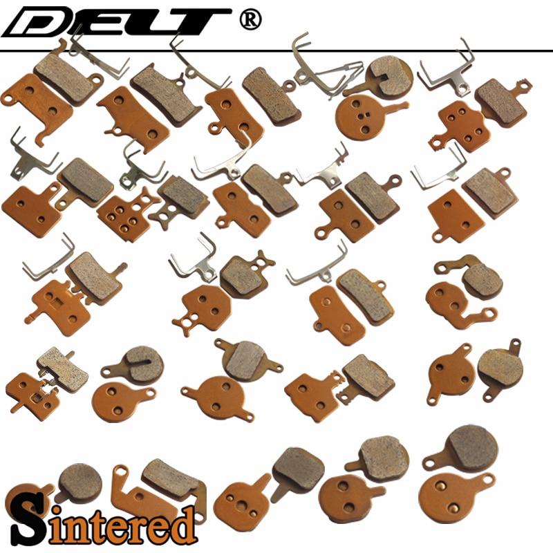 1 par sinterizado bicicleta pastilhas de freio a disco para shimano sram ávido zoom m355 m810 hayes mx2 985 975magura e1formula acessórios