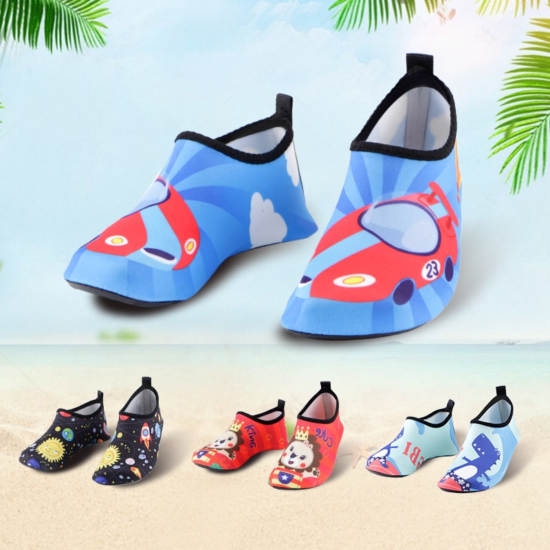 Water Sports Shoes Barefoot Quick-Drying Water Shoes Yoga Boy Girl Toddler Shoes One Pedal Men and W