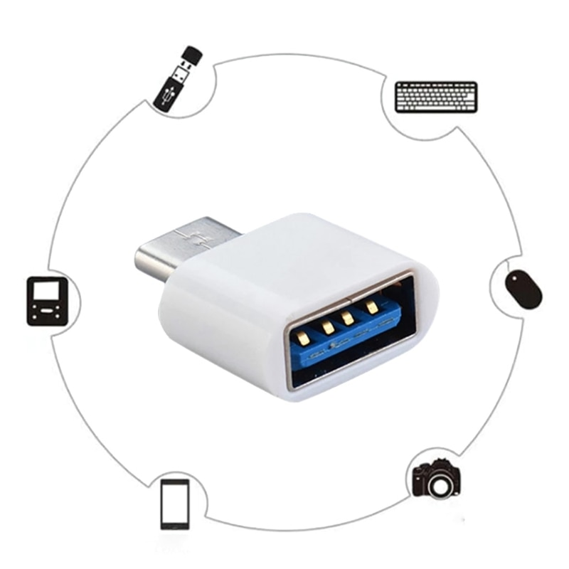 CPDD Tablet PC Micro Adapter Mobile Type-C Jack Splitter Dual USB C Splitter and Charging Adapter Ce