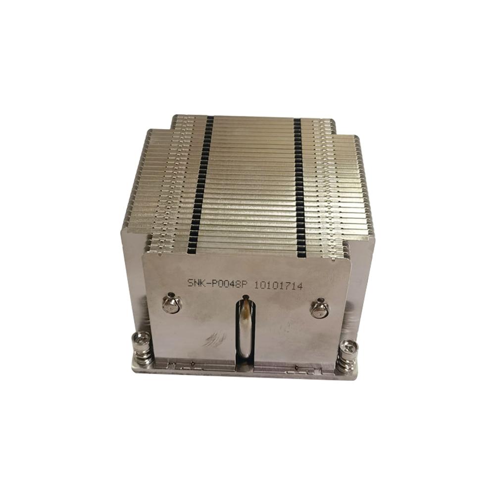 SNK-P0048P 2U وحدة المعالجة المركزية السلبي المبرد LGA 2011 بالوعة الحرارة ل Supermicro X9