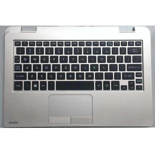 الخدوش الأصلي ل توشيبا L10W-B L15W L15W-B1208 Palmrest KB الحافة العلوي غطاء مع الولايات المتحدة لوحة المفاتيح لوحة اللمس 13N0-1KA0B01