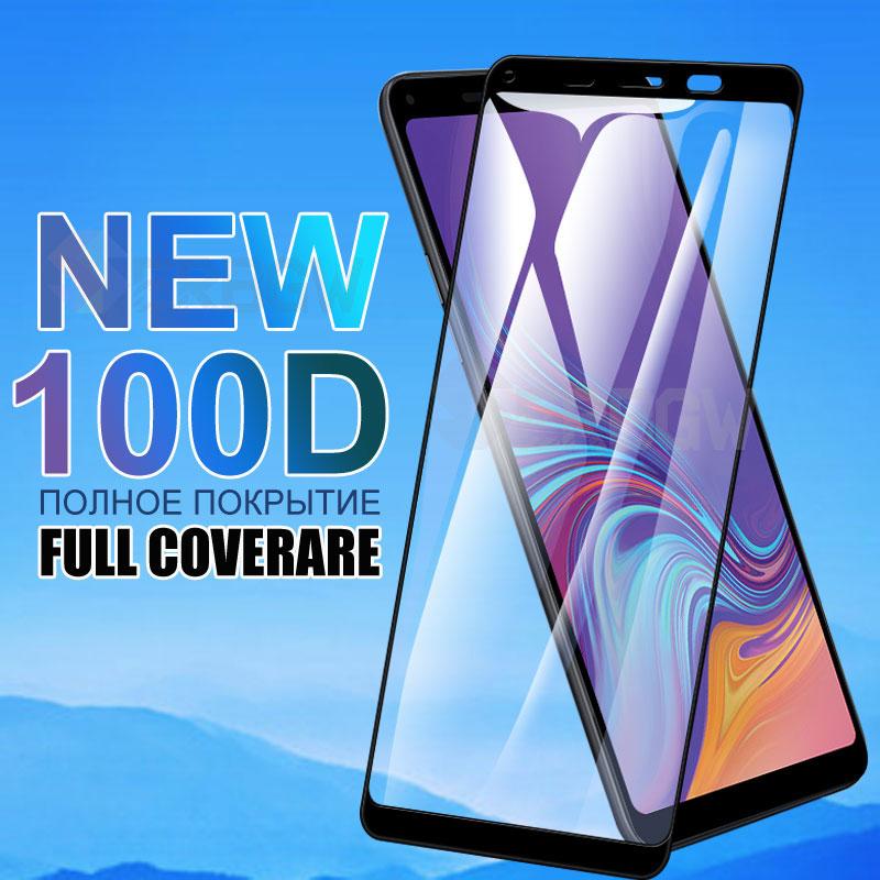 100D Schutz Glas Für Samsung Galaxy A6 A8 J4 J6 Plus 2018 Sicherheit Screen Protector J2 J8 A7 A9 2018 gehärtetem Glas Film Fall