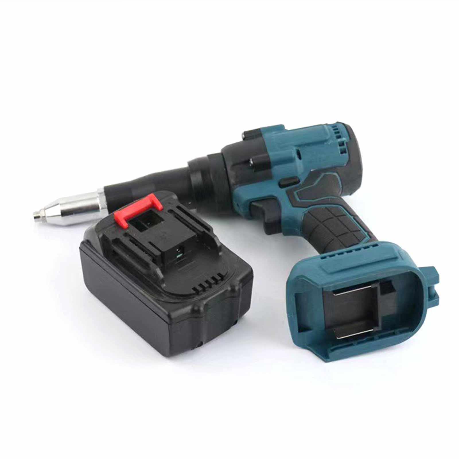 Electric Rivet Gun 3.2/4.8/5.2mm Rivet Nut Gun Drill Adapter Cordless Riveting Tool Insert Nut Pull Rivet Tool