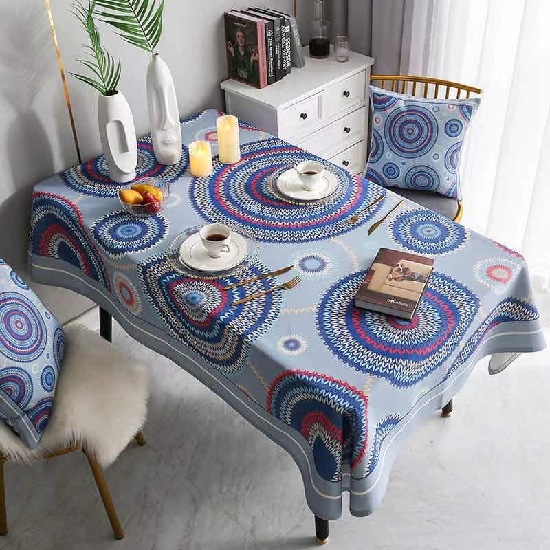 البوهيمي Tafelkleed للماء Eettafel غطاء Bruiloft Rechthoekige Tafel Doek المنزل Textiel Keuken ديكور
