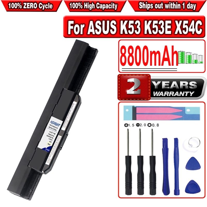 HSABAT 8800mAh A32-K53 A41-K53 Аккумулятор для ноутбука ASUS K53 K53E X54C X53S X53 K53S X53E