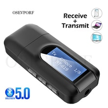 5.0 Bluetooth Adapters Wireless LCD Display USB Dongle Bluetooth Music Audio Receiver Transmitter Wi