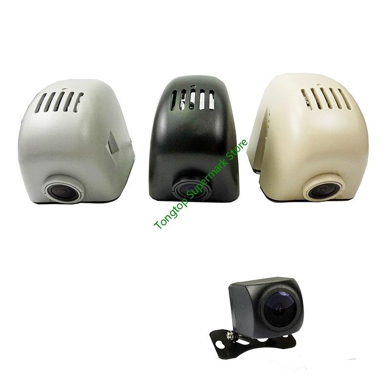 Grabadora de vídeo DashCam con lente Dual WIFi para coche DVR 1080P 96655 IMX323 para coches Audi A1 A3 A4 A5 A6 Q3 Q5 Q7 antes de 2012
