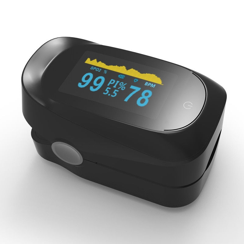 Fingertip Oximeter to Measure Blood Oxygen Saturation, Monitor Blood Oxygen Status, Household Oximeter Health Supplies