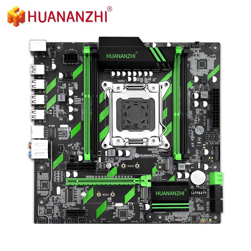 HUANANZHI X79-ZD3 M-ATX SATA3 USB3.0 PCI-E 16X NVME NGFF M.2 SSD دعم REG ECC RAM زيون E5 C2/V1/V2CPU X79 اللوحة LGA2011