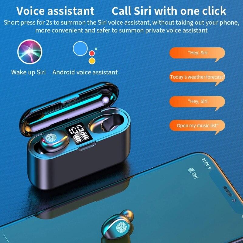 headset bluetooh Ln-ear Wireless headset Bluetooth Earphone Sports Running Earbuds Support for cellphone Call Wireless Earbuds enlarge