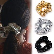 Chouchies élastiques pour femmes   Accessoires pour cheveux, couvre-chef, porte-cheveux, couleur or argent noir