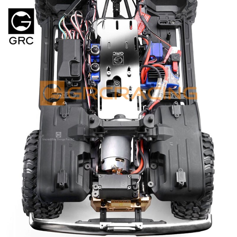 GRC G2 motor front wave box kit Standard Version front motor engine for 1 / 10 RC tracked vehicle traxxas trx-4 trx4 enlarge