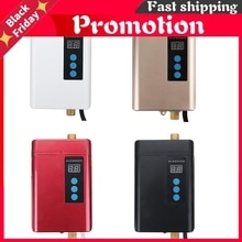 4000W 110-240V Instant Electric Mini Tankless Water Heater Hot Instantaneous Water Heater System for