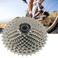 bike part durable nickel plated 10 speed 32t cassette sprocket bike accessory bike flywheel high precision for bicycle
