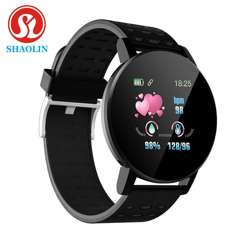 SHAOLIN Bluetooth Smart Watch Men Blood Pressure Smartwatch Women Watches Smart Band Sport Tracker For Android IOS