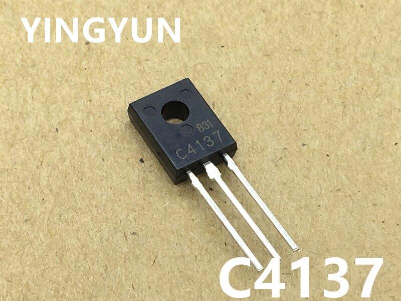 20pcs/lot    2SC4137 C4137 NPN TO-126 25V 100mA  1W  new original