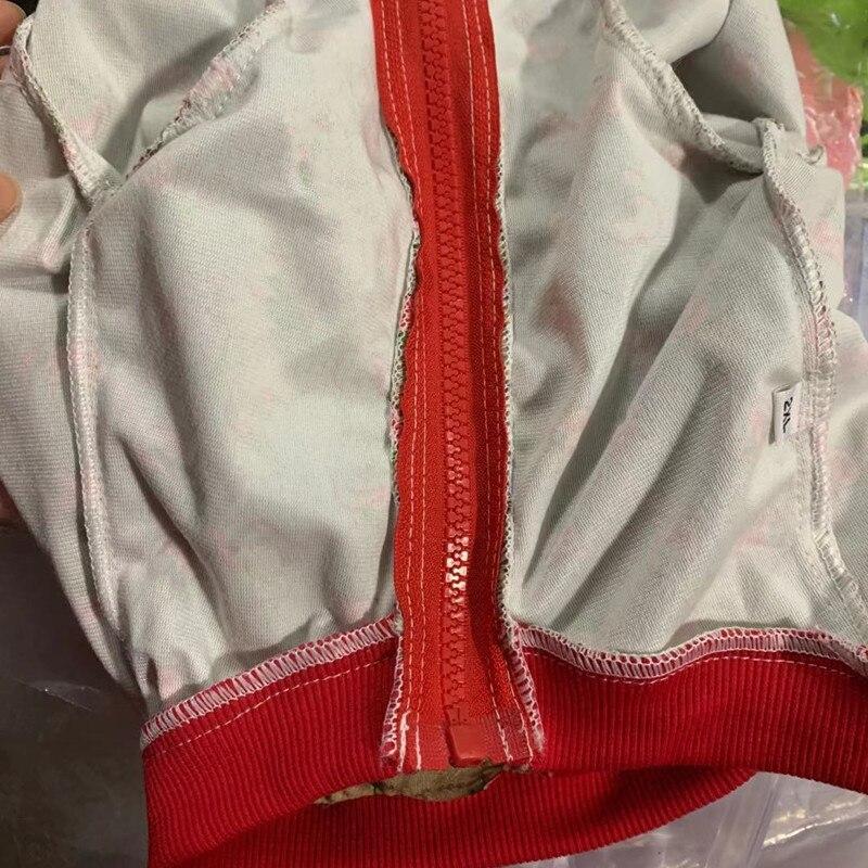 Ropa de algodón para perro, chaqueta transpirable con Estampado de cereza absorbente...