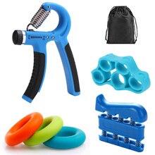 Mano Adduttori 10-40kg Regolabile Hand Grip Trainer Set Per Il Fitness di Primavera Dito della Mano di Espansione Ginnico Polso di Allenamento della Forza