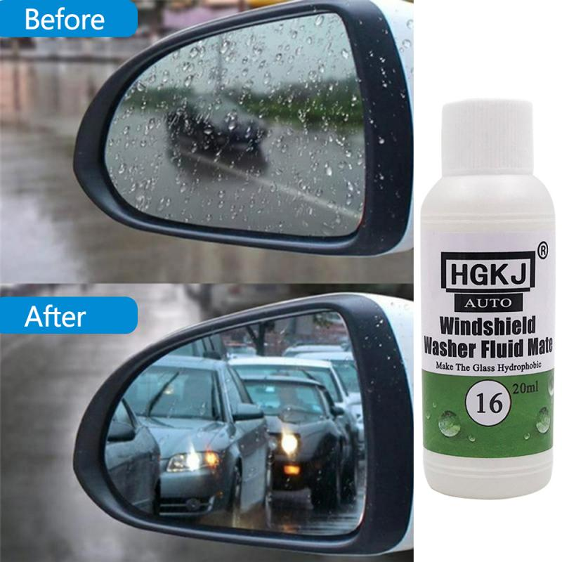 20ml HGKJ-16 Anti-rain Waterproof Glass Water Hydrophobic Additive Windshield Washer Fluid Mate Auto Care Maintenance TSLM1