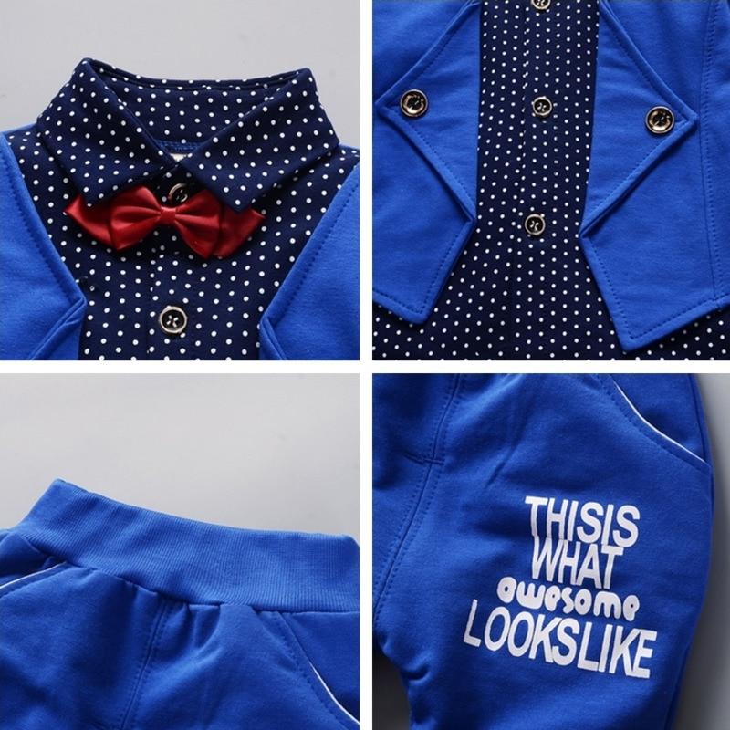 Купить с кэшбэком Spring Kids Fashion Clothes Baby Boy Girl Cotton Jacket Pants 2pcs/sets Autumn Children Infant Casual Clothing Toddler Tracksuit