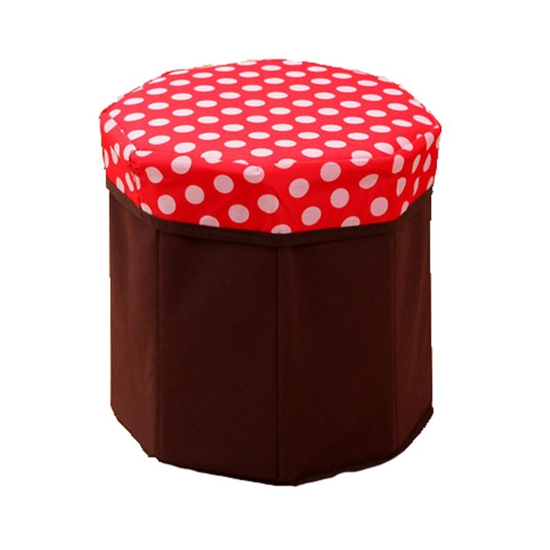 British Retro Folding Storage Organizer,Storage Box,Storage Box Footstool Seat,Children Toy Storage