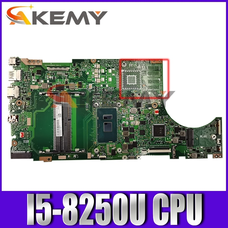 X510QA اللوحة ث/I5-8250U ل Asus X510QA X510QR X510Q X510 اللوحة المحمول X510QA mainboard