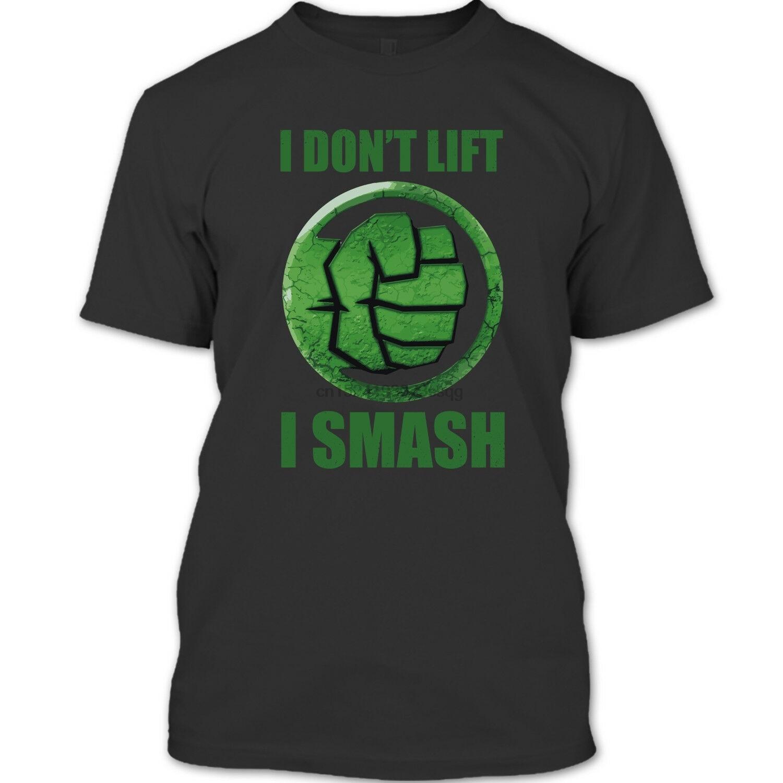 "Camiseta ""Me encanta Hulk Smash"" Dont Lift I Black Widow Scarlett"