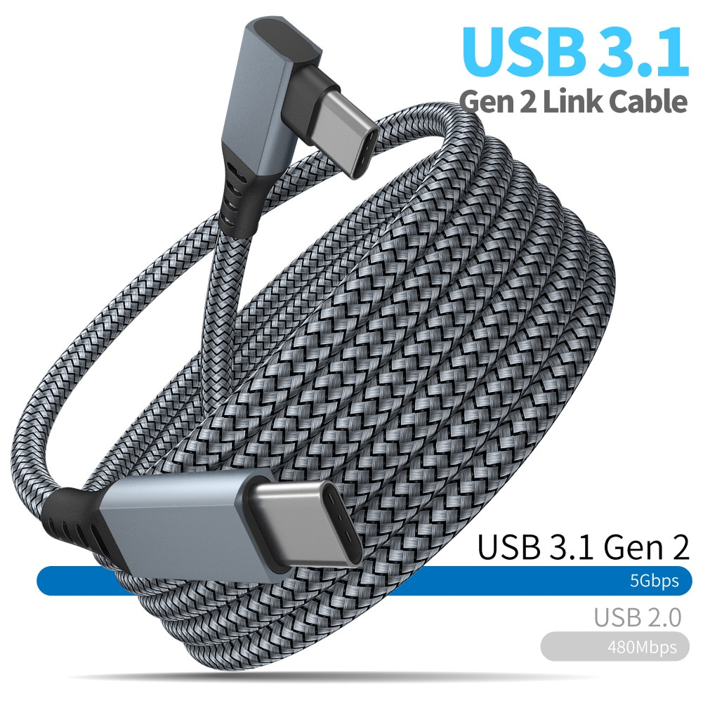 6M 5M 3M tipo C a tipo C Cable USB 3,1 Gen2...