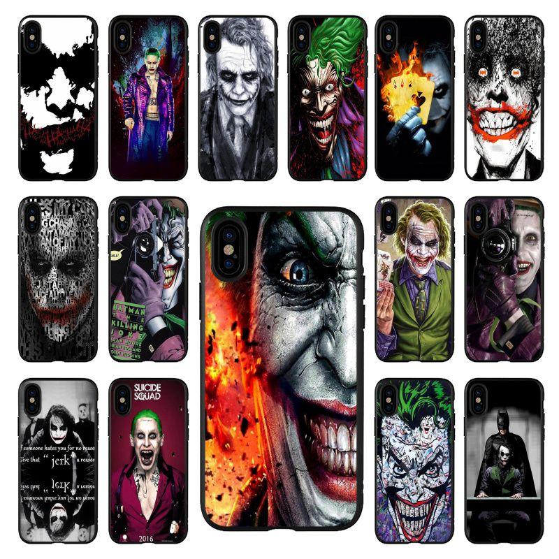 Poker joker de lujo diseño único iPhone 7 para Apple iPhone 11 8 7 6 6S Plus X XS X MAX 5 5S SE XR 11 pro móvil de la cubierta de los casos